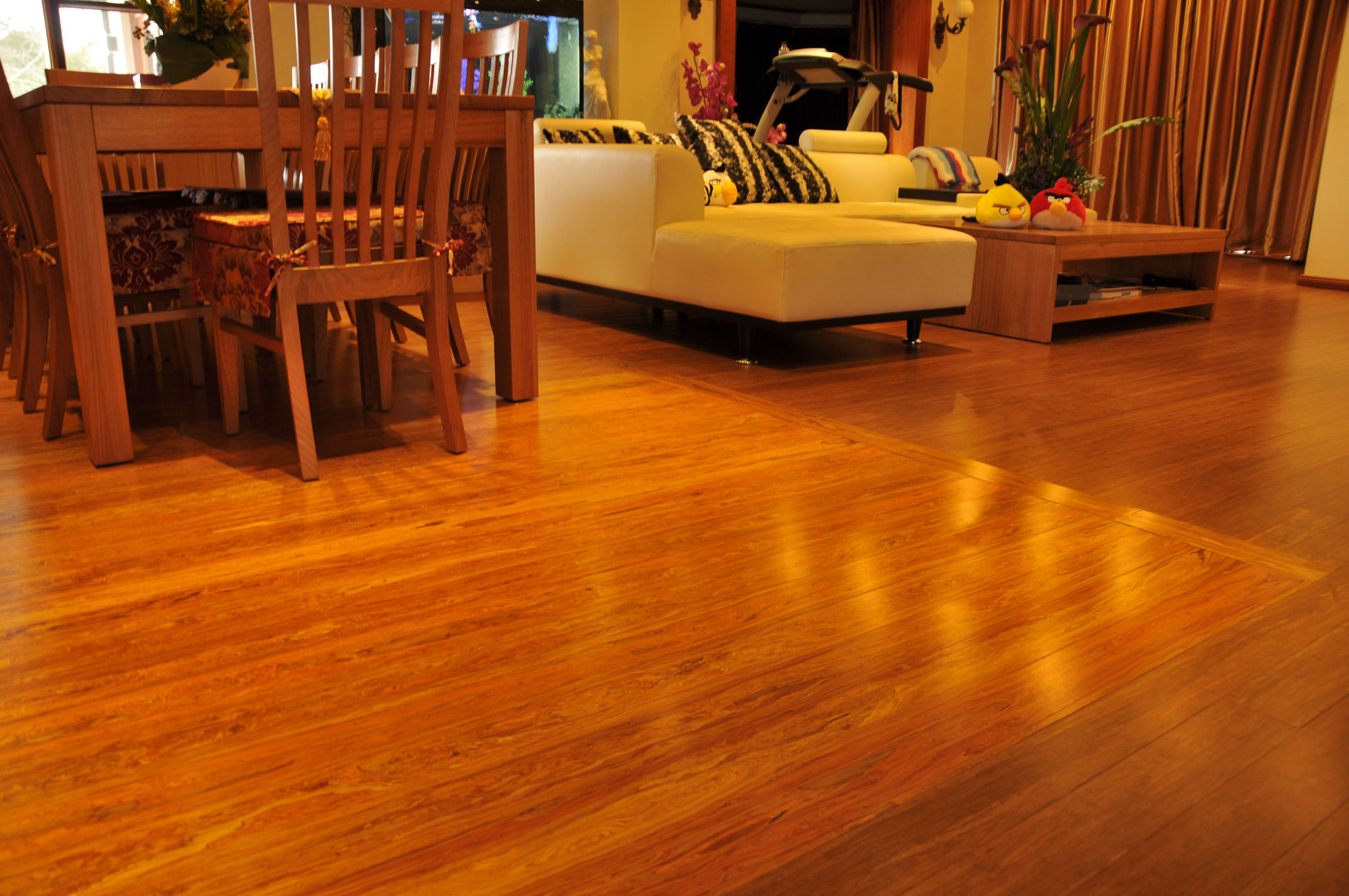 Maganda™ 14mm Strand Woven Bamboo Flooring Floors Floorboards
