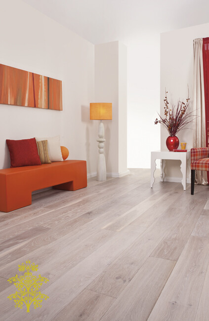 Mink Grey Oak GrandOak™ Engineered Oak Timber Flooring | Lion King Flooring