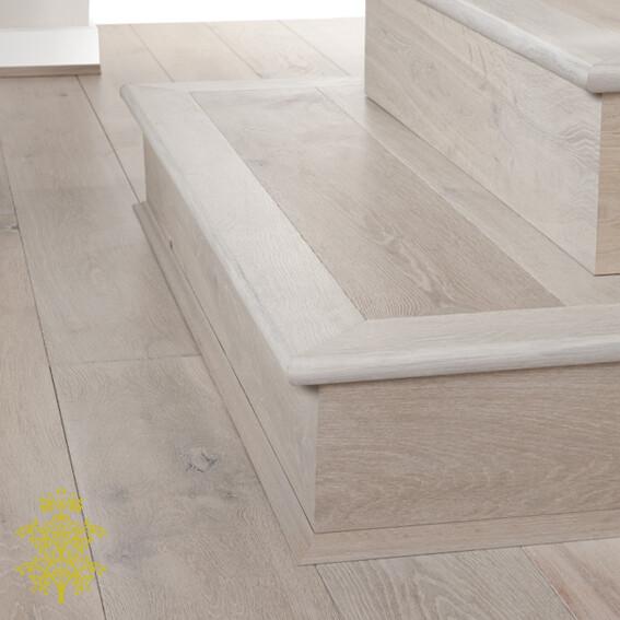 Gunsynd Oak GrandOak™ Engineered Oak Timber Flooring Stair Nose | Lion King Flooring