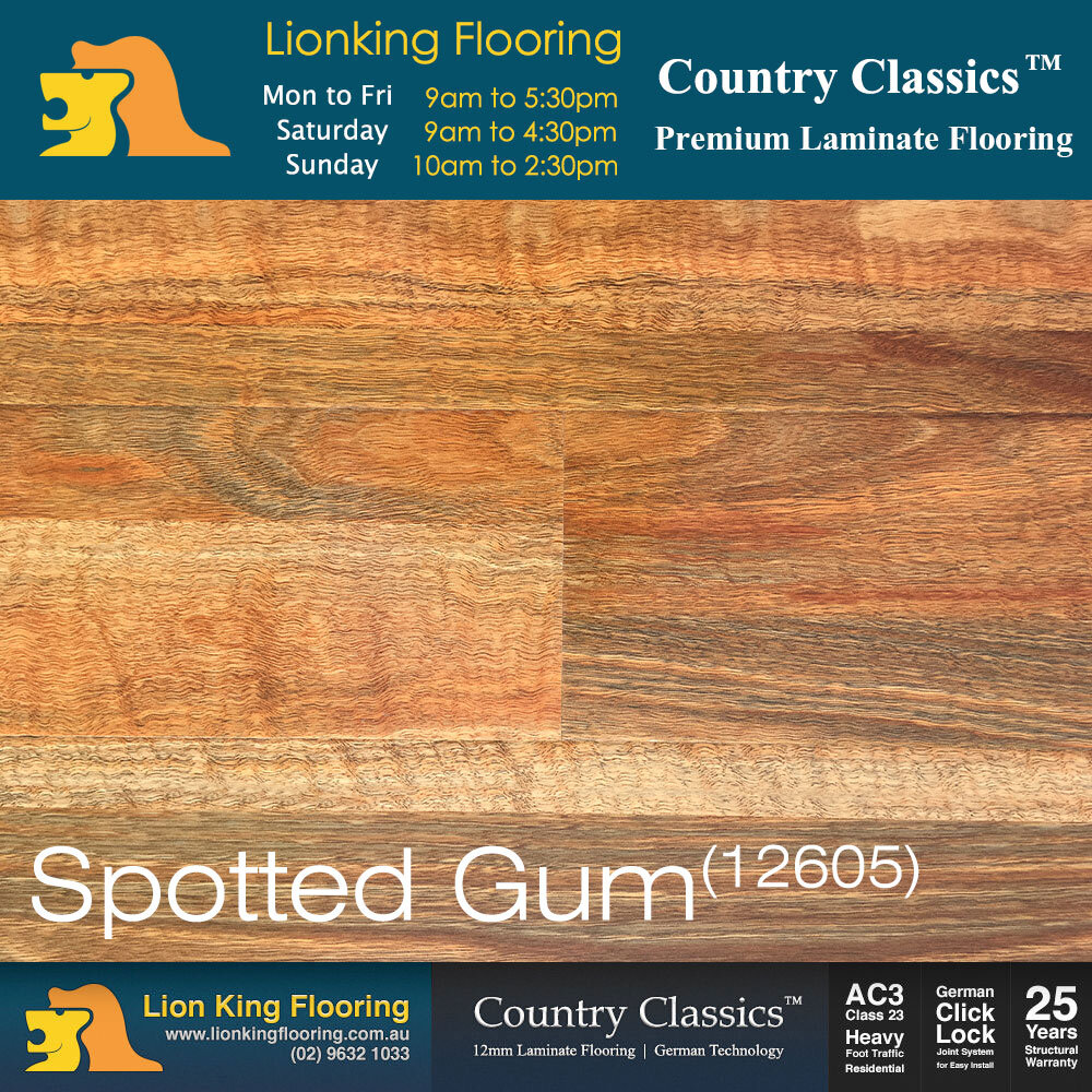 Laminate Flooring Spotted Gum