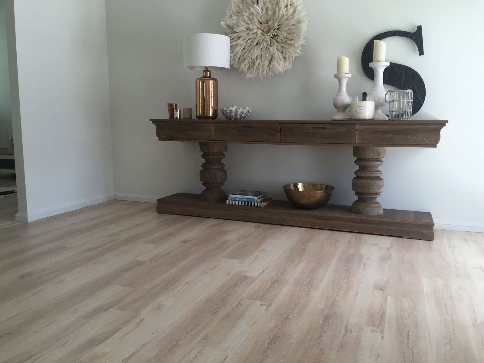 Vanilla Oak Laminate Flooring