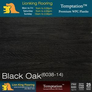 WPC Vinyl Flooring WPC Black Oak