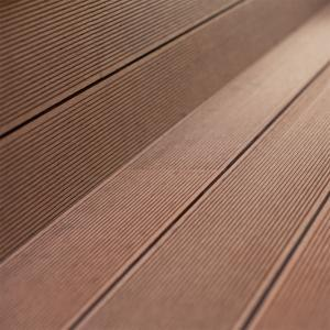 Brown Solardeck™ Bamboo WPC Outdoor Decking | Lion King Flooring