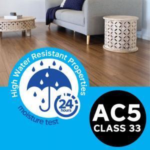 AC5 EXTREME WEAR & MOISTURE RESISTANCE LAMINATE FLOORING