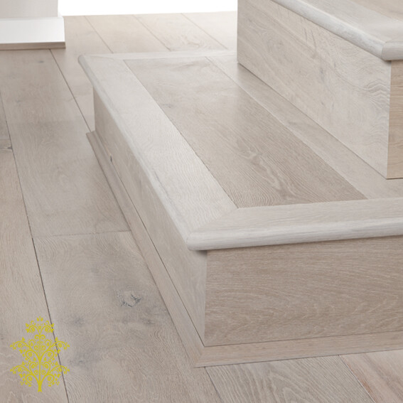 Gunsynd Oak GrandOak™ Engineered Oak Timber Flooring Stair Nose | Lion King Flooring