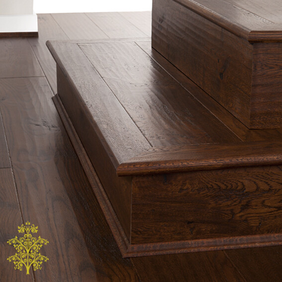 Milano Oak GrandOak™ Engineered Oak Timber Flooring Stair Nose | Lion King Flooring