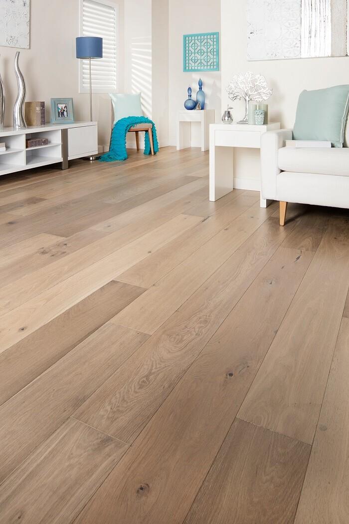Mink Grey Oak Grandoak Engineered Oak Timber Flooring